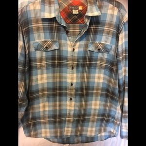 2x30$ Quick Silver plaid Shirt